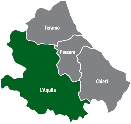 Wochenmärkte in der Provinz L'Aquila (AQ)