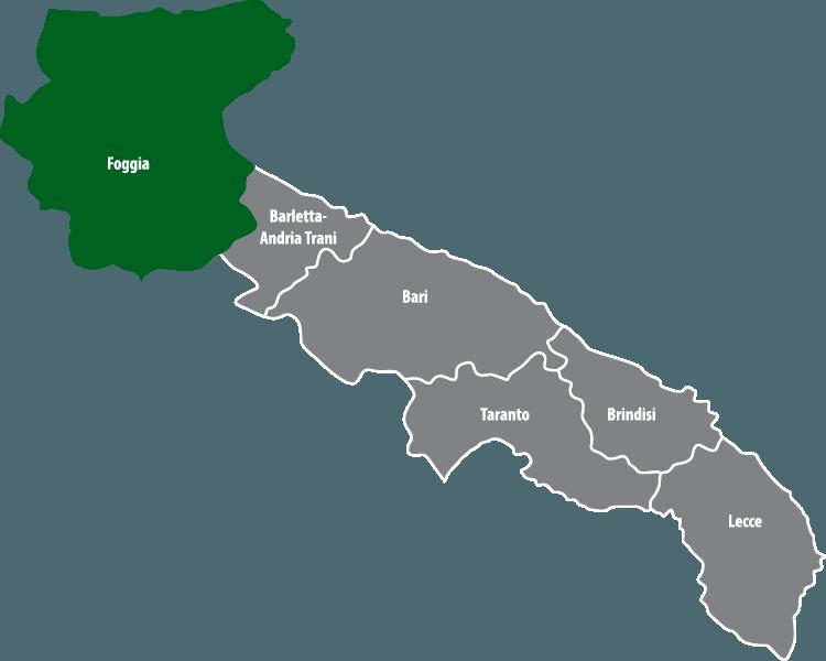 Wochenmärkte in der Provinz Foggia (FG)