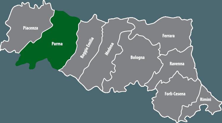 Wochenmärkte in der Provinz Parma (PR)