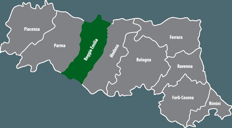Wochenmärkte in der Provinz Reggio Emilia (RE)