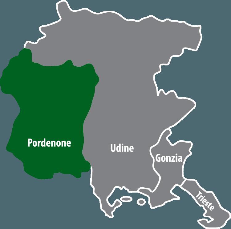 Wochenmärkte in der Provinz Pordenone (PN)