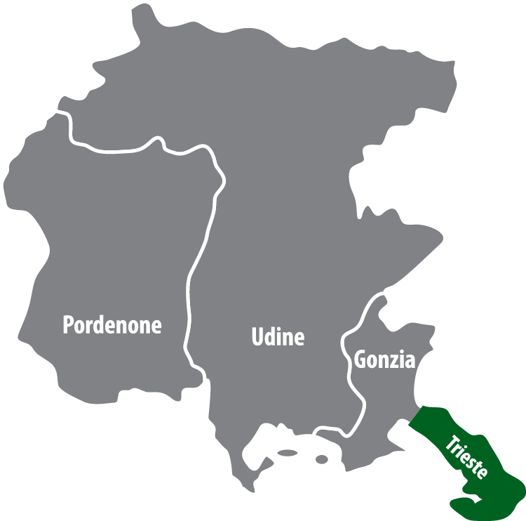 Wochenmärkte in der Provinz Triest (TS)