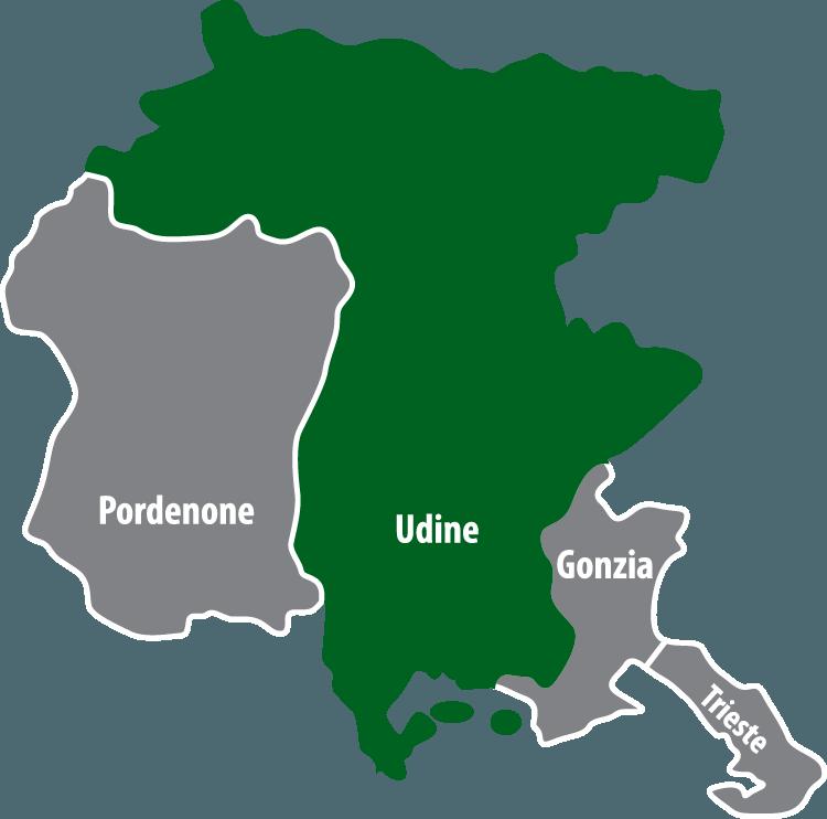 Wochenmärkte in der Provinz Udine (UD)