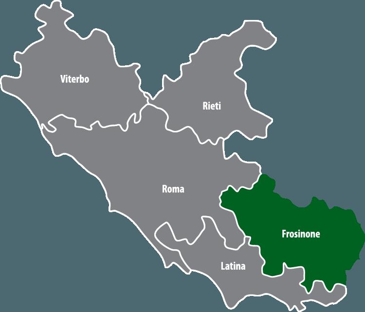 Wochenmärkte in der Provinz Frosinone (FR)