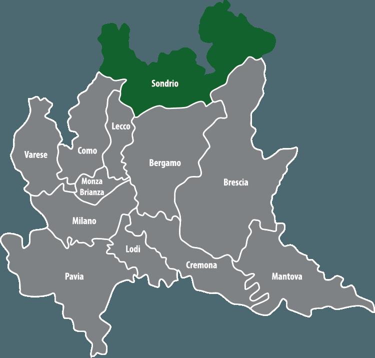 Wochenmärkte in der Provinz Sondrio (SO)