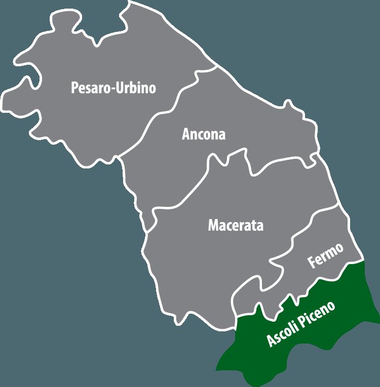 Wochenmärkte in der Provinz Ascoli Piceno (AP)