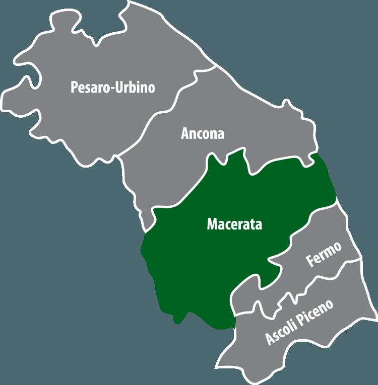 Wochenmärkte in der Provinz Macerata (MC)
