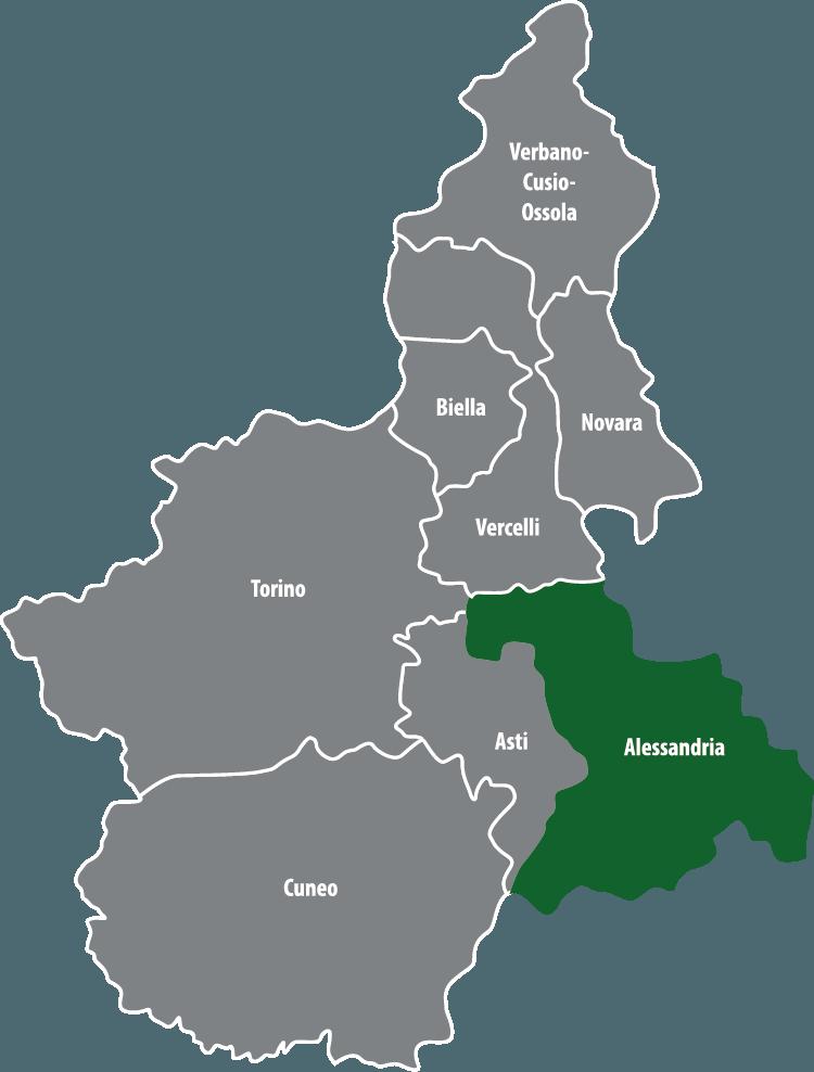 Wochenmärkte in der Provinz Alessandria (AL)