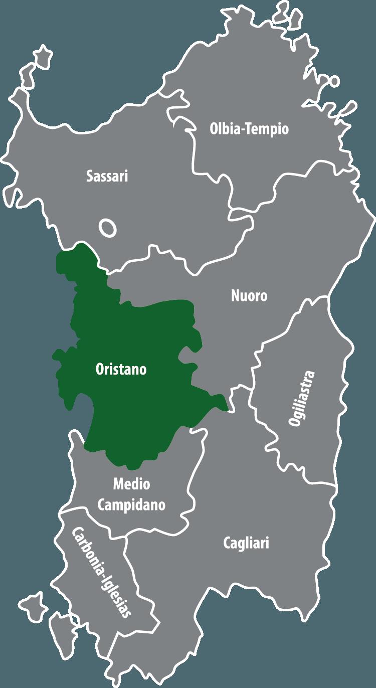 Wochenmärkte in der Provinz Oristano (OR)