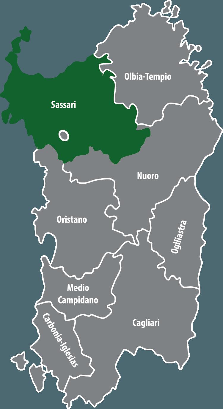 Wochenmärkte in der Provinz Sassari (SS)