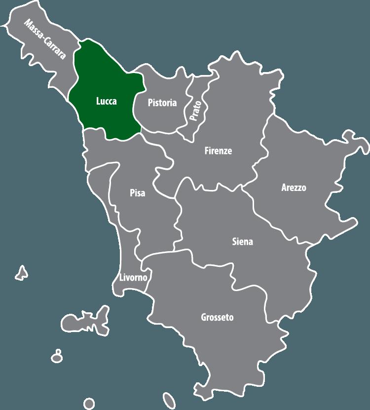 Wochenmärkte in der Provinz Lucca (LU)