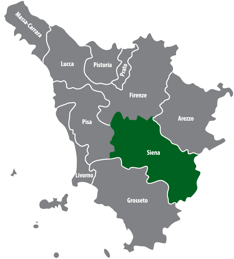 Wochenmärkte in der Provinz Siena (SI)