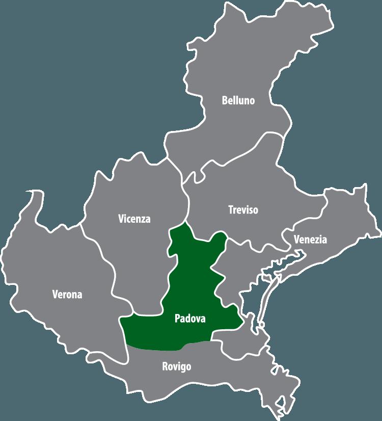 Wochenmärkte in der Provinz Padua (PD)