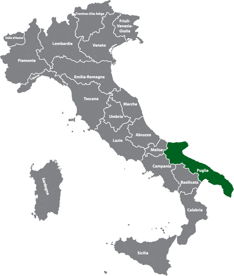 Region Apulien