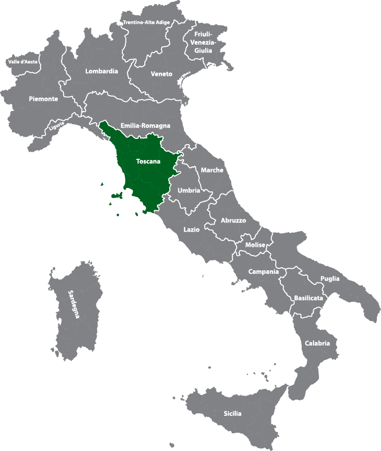 Region Toskana